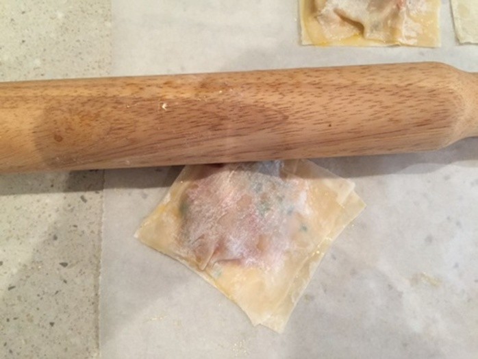 rolling,wontons,with,rolling,pin