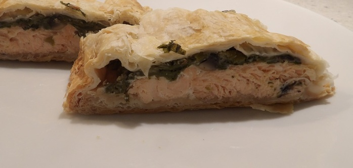 salmon,wellington,with,cream,cheese,spinach,and,orange