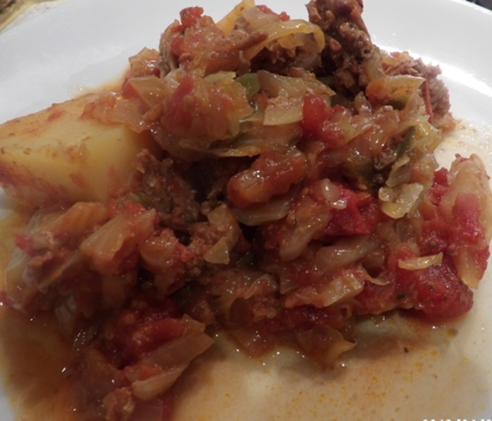 slow,cooked,cabbage,roll,casserole