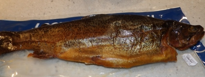 smoked,trout