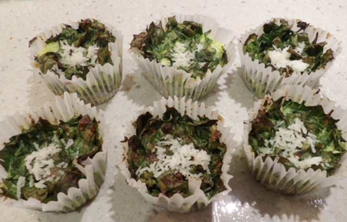 spinach,cake,with,Parmesan,and,Cottage,cheese