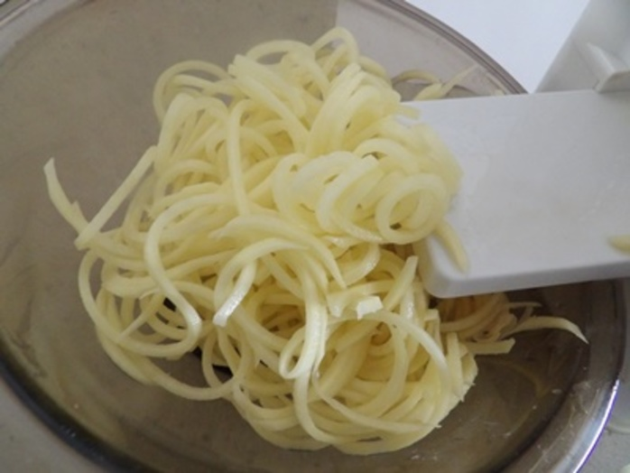 spiralizing,potatoes,for,baskets