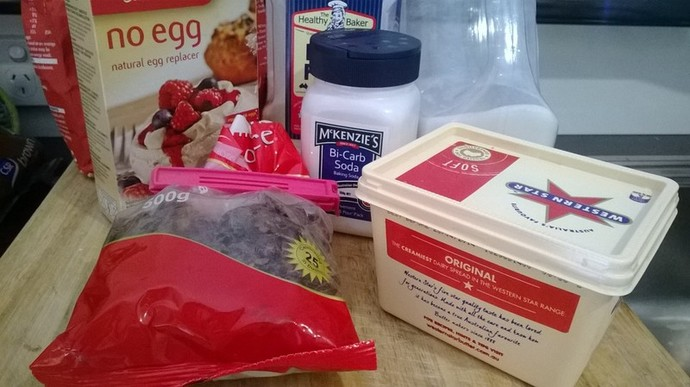 Sticky Date Pudding Ingredients