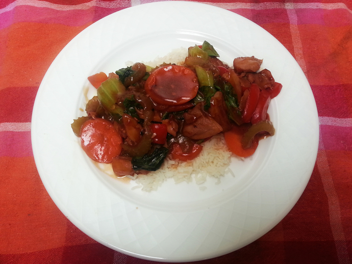 Sweet and Sour Stir Fry