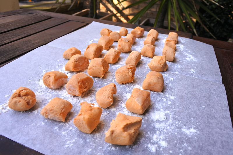 Sweet Potato Gnocchi with Burnt Butter Sage