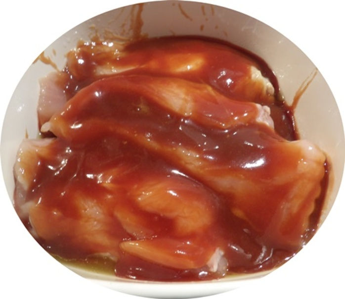 mixing,sauce,for,teriyaki,chicken