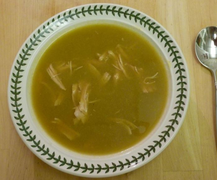 turkey leek soup warming winter soul food