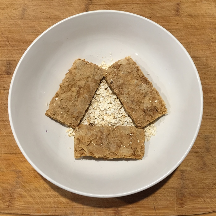 Weetbix and oats