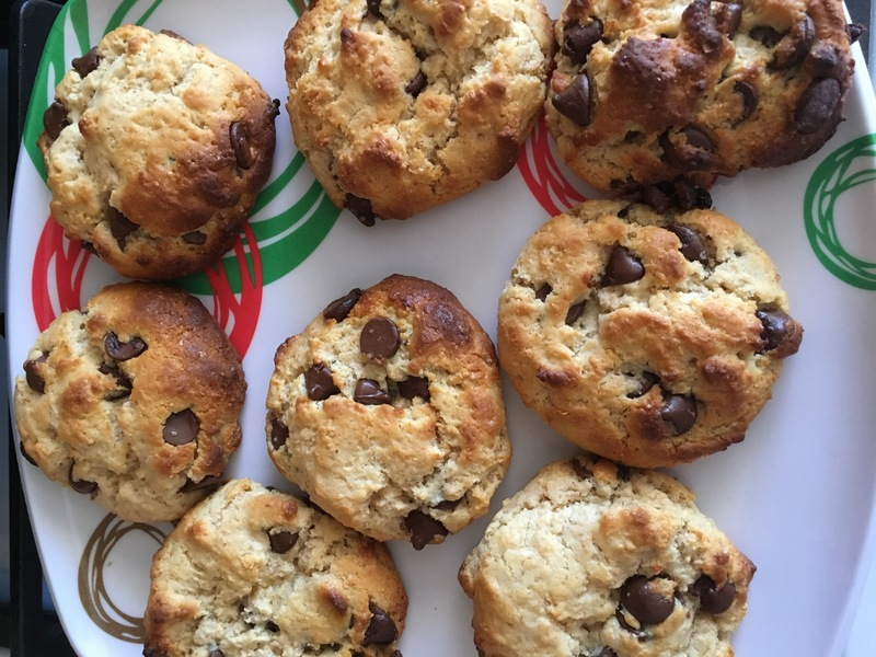 Wholemeal Chocolate Chip Cookies  - Wholemeal Chocolate Chip Cookies